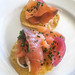 Smoked Salmon Appetizer at Las Brisas - Laguna Beach, California