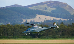 G-LEXS A109, Scone (wwshack) Tags: a109 agusta egpt psl perth perthkinross perthairport perthshire scone sconeairport scotland helicopter glexs