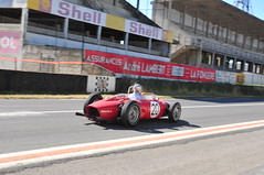 GC9_8955 (ladythorpe2) Tags: ferrari 152 shark nose riems french grand prix peter collins phill hill red italian prancing horse tribunes esso marchalle bp shell racing history motorsport recreation hot sunny sunday ghost car circuit reims gueux legende historic meeting 15th september 2019