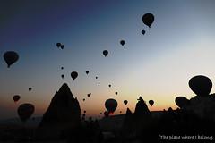 Sunrise and hot air balloons only in Cappadocia (The place where I belong) Tags: sunrise hotairballoon kapadokya cappadocia turkey göreme travel adventure lovetravelling canon travelphotography travelblogger