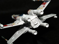 Star Wars X-Wing Bandai (Kasia/flickr) Tags: starwars xwing bandai model ottawa