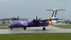 G-PRPB (PrestwickAirportPhotography) Tags: egcc manchester airport flybe bombardier dash 8 gprpb