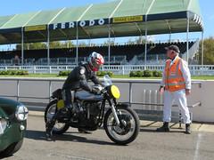 Norton Motorbike (jane_sanders) Tags: goodwood westsussex sussex goodwoodrevival revival motorcircuit testing test norton motorbike motorcycle