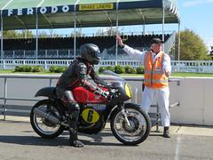 Matchless Motorbike (jane_sanders) Tags: goodwood westsussex sussex goodwoodrevival revival motorcircuit testing test matchless motorbike motorcycle