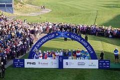 European Team at the closing ceremony (Ladies European Tour) Tags: auchterader perthshire scotland