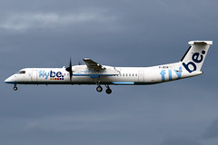 G-JECN FlyBe De Havilland Canada Dash 8-Q400 at Edinburgh Turnhouse Airport on 14 September 2019 (Zone 49 Photography) Tags: aircraft airliner aeroplane september 2019 edinburgh scotland egph edi turnhouse airport bebee flybe de havilland canada dhc dash 8dash8 q400 gjecn