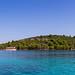Panoramic view of Pomestak island in Croatia