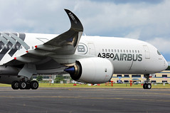 Airbus Industrie - F-WWCF back tracking - Farnborough Airport (FAB/EGLF) (Andrew_Simpson) Tags: fwwcf airbusindustrie airbus airbusa350 a350900 a359 a350 airbustestaircraft testaircraft speciallivery carbonfibre wing aircraftwing aircraftengine engine winglet wingtip farnboroughairport fanrboroughinternationalairport farnboroughinternational farnboroughairshow farnboroughinternationalairshow farborough fab eglf hampshire airshow airdisplay fia fia16 fia2016 uk aircraft aviation avgeek avporn aviationgeek aviationporn planepic planephoto planes plane aircraftpic airplane aeroplane unitedkingdom gb greatbritian england