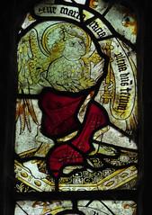 Gabriel, Haseley (Aidan McRae Thomson) Tags: haseley church warwickshire stainedglass window medieval