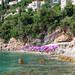 Strand Sveti Jakov zwischen Klippen in Dubrovnik, Kroatien