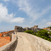 City wall in the Old Town of Dubrovnik, Croatia