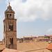 Glockenturm des Franziskanerklosters in der Altstadt von Dubrovnik, Kroatien