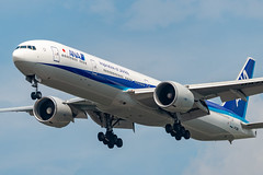 JA736A All Nippon Airways Boeing 777-381(ER) (Lin.y.c) Tags: ja736a all nippon airways boeing 777381er allnipponairways 777 773 777300 777300er 773er er aviation airplane ord kord ohare chicago ana