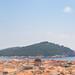 Lokrum Island as seen from the Minčeta Fortress in Dubrovnik, Croatia