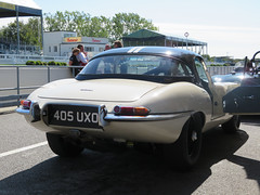 Jaguar E-type (jane_sanders) Tags: goodwood westsussex sussex goodwoodrevival revival motorcircuit testing test jaguaretype jaguar etype
