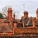 Birmingham Botanical Gardens - roofs