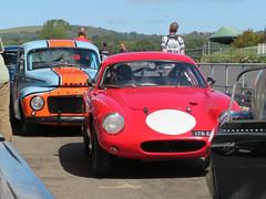 Volvo and Lotus Elite (jane_sanders) Tags: goodwood westsussex sussex goodwoodrevival revival motorcircuit testing test volvo lotuselite lotus elite
