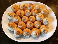 bread of roses (artsyphoenix) Tags: dinnerrolls bread roses