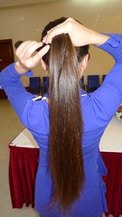 BC CUT (morikarak) Tags: longhair shave bald shorthair haircut headshave rapunzel scissors play asian