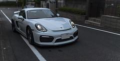 Porsche Cayman GT4 (Masa Angenieux) Tags: panasonic lumix dcs1r sigma art 35mm f12 dg dn porsche cayman gt4
