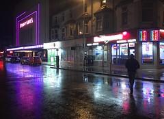 Dickson Road liw nos / at night - Blackpool (Rhisiart Hincks) Tags: sirgaerhirfryn lancashire lloegr england sasana brosaoz ingalaterra angleterre inghilterra anglaterra 英国 angletèrra sasainn انجلتــرا anglie ngilandi ue eu ewrop europe eòrpa europa blackpool fylde cyrchfangwyliau holidayresort powsows scáil reflexión adlewyrchiad islada adsked reflection faileas oidhche oiche noz nos nuit night gau noche busti gwlyb gleb fliuch wet funnygirls