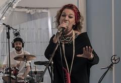 Woman Singer (Lyutik966) Tags: woman singer performer concert vote song music melody man drum exhibition namm sokolniki moscow russia