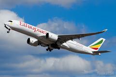 ET-AUB | Ethiopian Airlines | Airbus A350-941 | LHR/EGLL (Tushka154) Tags: etaub unitedkingdom spotter a350900 london ethiopianairlines a350941 a350 heathrow airbus a350xwb airbusa350 airbusa350xwb aircraft airplane avgeek aviation aviationphotography ethiopian planespotter planespotting spotting uk
