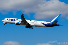 9K-AOC | Kuwait Airways | Boeing 777-369(ER) | LHR/EGLL (Tushka154) Tags: boeing unitedkingdom spotter london kuwaitairways 777 777300 777369er heathrow 9kaoc aircraft airplane avgeek aviation aviationphotography boeing777 boeingtripleseven planespotter planespotting spotting tripleseven uk