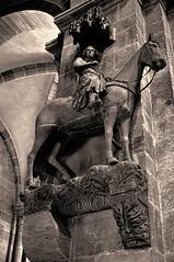 Der berühmteste Reiter der Welt - The most famous rider in the world (cammino5) Tags: bamberg dom bambergerreiter september 2019 franken skulptur bayern deutschland