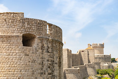 Minceta Fortress in the Old Town of Dubrovnik, Croatia