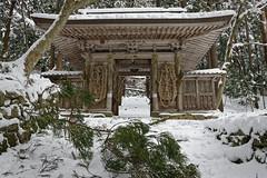 百済寺 (小川 Ogawasan) Tags: japan japon nihon shiga temple winter hyakusaiji 天台宗 仁王門 niomon