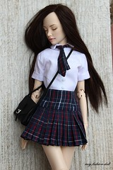 Special order wig and outfit for Natalia Loseva Dolls (meg fashion doll) Tags: special order wig outfit for natalia loseva dolls