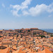 Clay roofs in the Old Town of Dubrovnik, Croatia
