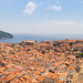 A view from the Minčeta Fortress of the Old Town of Dubrovnik, Croatia