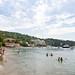 Yacht anchorage on the western end of Lopud island, Croatia