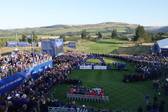 A general view of the closing ceremony (Ladies European Tour) Tags: auchterader perthshire scotland