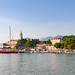 Old harbour on the island Lopud, Croatia