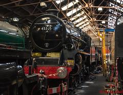 45305 (LMSlad) Tags: great central railway 45305 black5 br lms stanier 460 loughborough