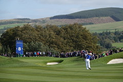 Bronte Law of England in action during the Sunday Singles (Ladies European Tour) Tags: lawbronteeng auchterader perthshire scotland