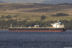 The Panamanian registered tanker Karavas, IMO 9420631; Loch Long, Firth of Clyde, Scotland (Michael Leek Photography) Tags: oilindustry oiltanker tanker ship vessel merchantship merchantvessel merchantnavy boat workingboat workboat finnart lochlong clyde firthofclyde westcoastofscotland westernscotland cowal cowalpeninsula scotland scottishcoastline scottishlandscapes scotlandslandscapes scottishshipping michaelleek michaelleekphotography