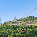 Talstation Seilbahn zum Gipfel Srd in Dubrovnik, Kroatien