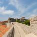Stadtmauer in der Altstadt von Dubrovnik, Kroatien