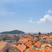 Over the Old Town of Dubrovnik, Croatia