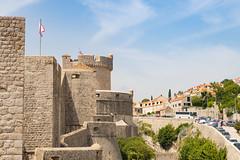 Festung Minceta in der Altstadt von Dubrovnik, Kroatien