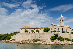Franciscan Monastery on Lopud island, Croatia