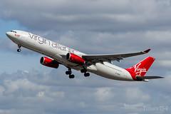G-VWAG | Virgin Atlantic | Airbus A330-343 | LHR/EGLL (Tushka154) Tags: unitedkingdom spotter gvwag london virginatlantic a330343 airbus a330 heathrow a330300 airbusa330 aircraft airplane avgeek aviation aviationphotography planespotter planespotting spotting uk