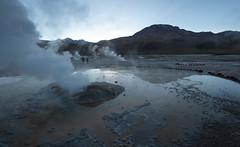 Smoke and Puddle (MrBlackSun) Tags: eltatio eltatiogeysers chile steam smoke damp geysers vapour atacama atacamadesert nikon d850 landscape landscapephotography