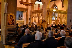 during service (James O'Hanlon) Tags: parachute regiment regimental association parachuteregimentassociation operation market garden arnhem st nicks liverpool parish church liverpoolparishchurch stnicks operationmarketgarden 75thanniversary anniversary