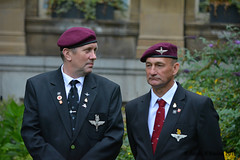 veterans (James O'Hanlon) Tags: parachute regiment church st parish liverpool garden market anniversary arnhem operation nicks association liverpoolparishchurch operationmarketgarden 75thanniversary regimental stnicks parachuteregimentassociation