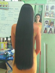 shave (morikarak) Tags: longhair shave bald shorthair haircut headshave rapunzel scissors play asian